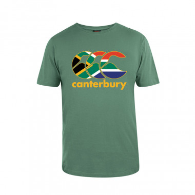 Canterbury Green South Africa Nations T-Shirt