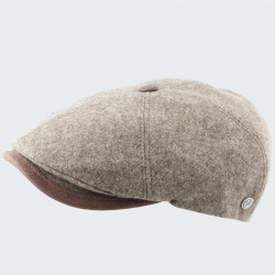 Celtic Alliance Brown Cap With Button