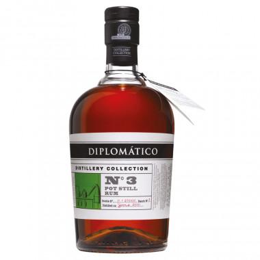 Rum Diplomatico N°3 Pot Still Rum 70cl 47°