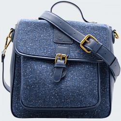 Sacoche Tweed Bleu Aran Woollen Mills