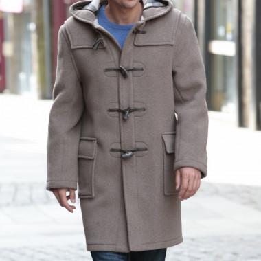 London Tradition Dark Beige Martin Duffle Coat
