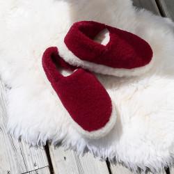 Alwero Red Siberian Slippers