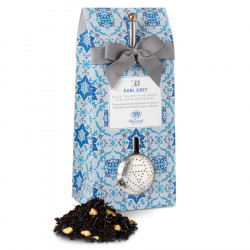 Whittard Earl Grey Tea 100g Pouch & Infuser