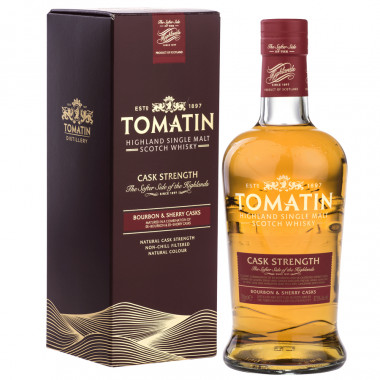 Tomatin cask strength 70cl 57.5'