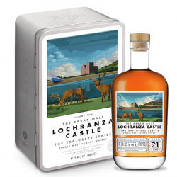 Arran Lochranza Castle Explorer 21 ans 70cl 47.2°