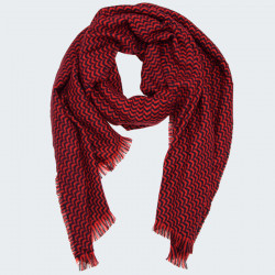 Out Of Ireland Red and Navy Stole
