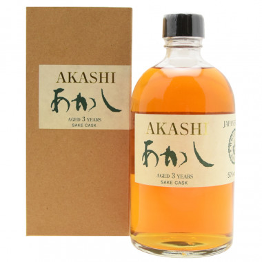 Akashi Single Malt Sake 50cl 50°