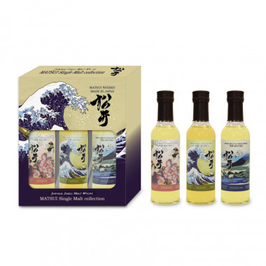 Coffret Matsui Single Malt Collection 3x20cl 48°