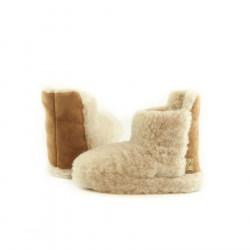 Alwero Beige Wool Boots Slippers