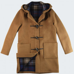 London Tradition Caramel Angela Duffle-Coat