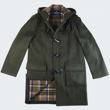London Tradition Green Martin Duffle-Coat