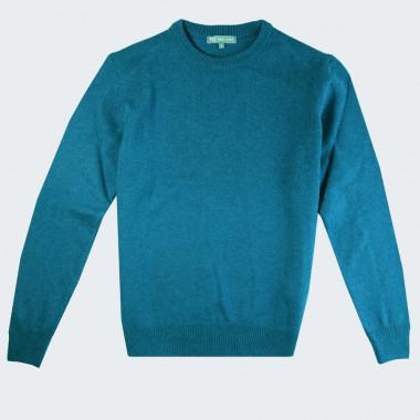 Best Yarn Extra Thin Wool Peacock Blue Sweater