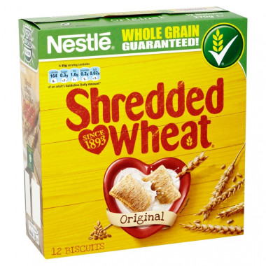 Céréales Au Blé Shredded Wheat 270g