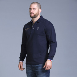 Ruckfield Navy French Rugby Polo Shirt
