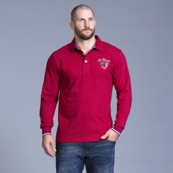 Polo French Rugby Rouge Ruckfield