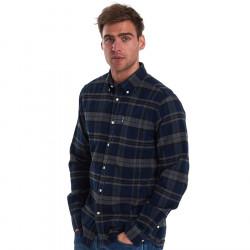 Barbour Grey Tartan Shirt