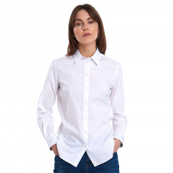 Barbour White Derwent Blouse