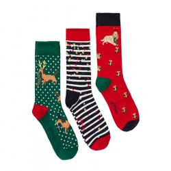 Lot of Printed Socks Tom Joule x3 Pairs