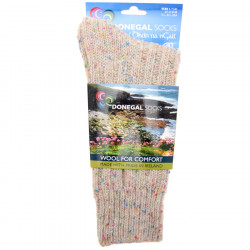 Donegal Socks Blanco Multi Short Socks