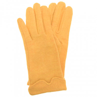 Out of Ireland Dark Yellow Gloves