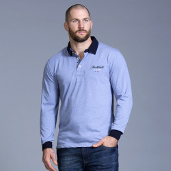 Ruckfield Light Blue Rugby Polo Shirt