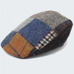 Casquette Irlandaise Tweed Anthracite Hanna Hats
