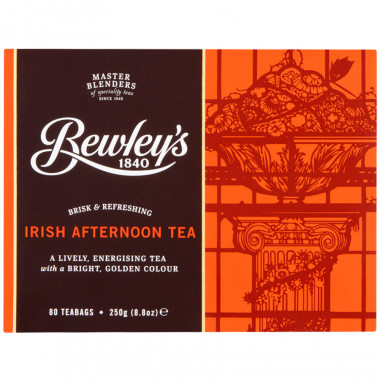 Bewley's Tea Irish Afternoon 80 Teabags 250g
