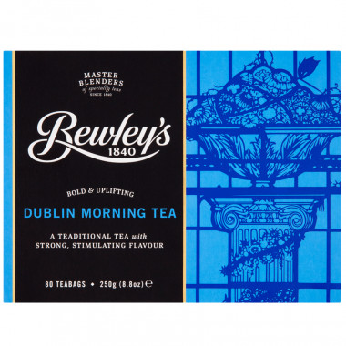 Bewley's Thé Dublin Morning 80 Sachets 250g