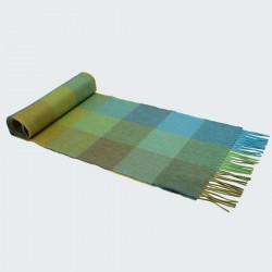 Avoca Merino Wool Green Scarf