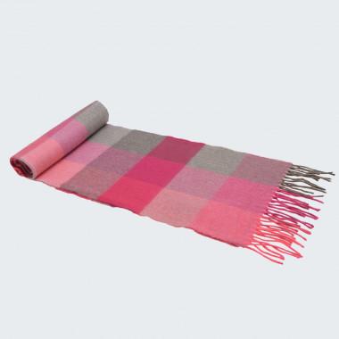Avoca Merino Wool Light Pink Scarf