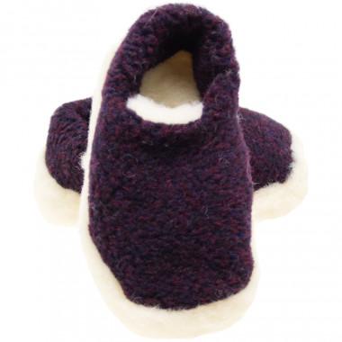 Alwero Plum Siberian Slippers