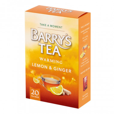 Barry's Infusion Citron Gingembre 40 sachets
