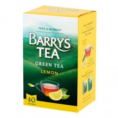 Barry's Green Tea Lemon 40 bags