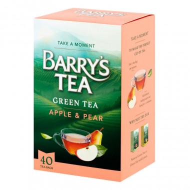 Barry's Thé Vert Pomme Poire 40 sachets