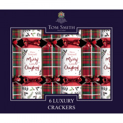 Party Crackers Mini Tartan Tom Smith x6