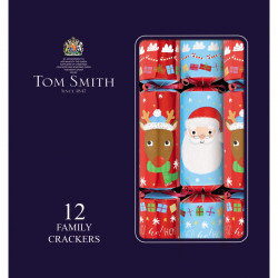 Party Crackers Fun Family Tom Smith x12