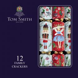 Tom Smith Nutcracker Christmas Crackers x 12