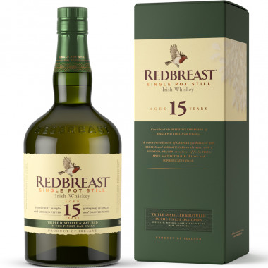 Redbreast 15 ans Single Pot Still 70cl 46°