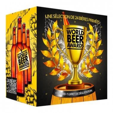 Calendrier de l'Avent 2019 - 24 Bières Médaillées + 1 Verre