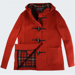 Duffle-Coat Melissa Orange London Tradition