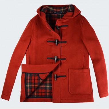 London Tradition Orange Melissa Duffle-Coat