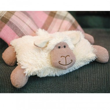 White Soft Sheep Toy Pillow