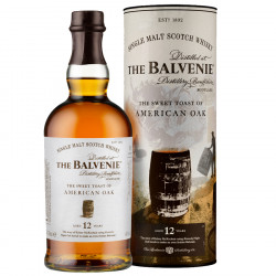 Balvenie 12 Ans Sweet Toasted American Oak 70cl 43°