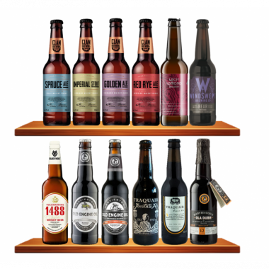 Box Découverte 12 Bières Écossaises d'Exception