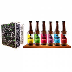 Coffret Bières Discovery Beer Book Bio 6x33cl
