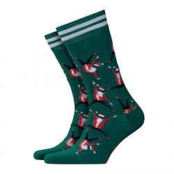 Burlington Dancing Santa Men's Socks