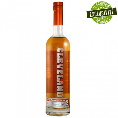 Cleveland Bourbon The Eighty 70cl 40°