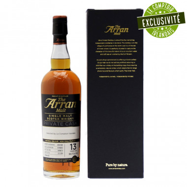 Arran Malt 13 ans 2002 Sherry Cask 70cl 56°