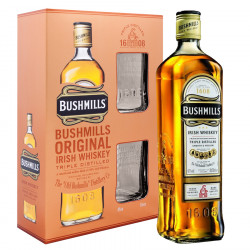 Bushmills Original 70cl 40° Gift Box + 2 Glasses