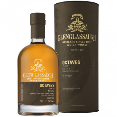 Glenglassaugh Octaves Peated Batch n°2 70cl 44°